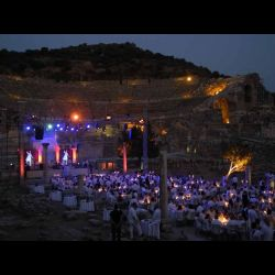 Dinner Party - Ephesus, Turkey