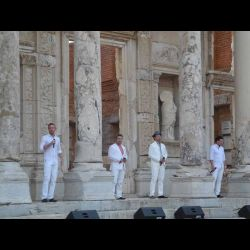 The Tenors - Ephesus, Turkey